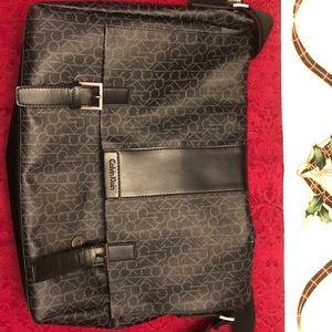 Calvin Klein crossbody suitcase